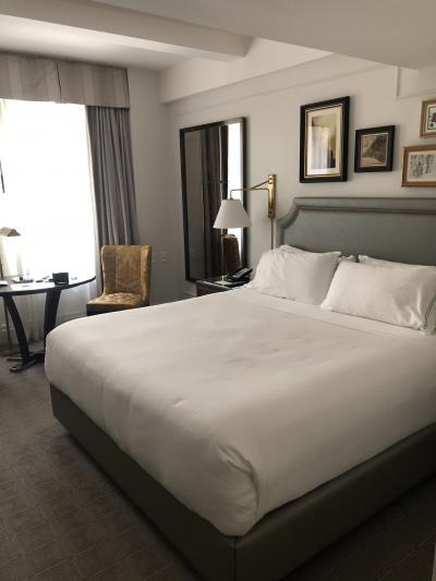 重厚感のあるホテル
