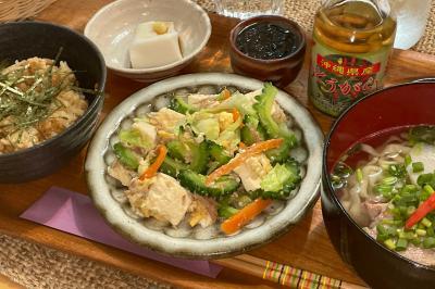 古民家ギャラリーで沖縄料理が頂けます!