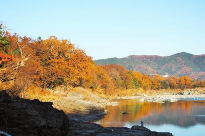 長瀞の渓谷美を楽しみました。