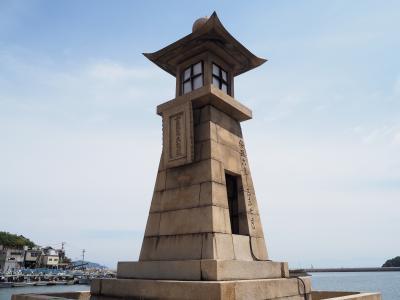 存在感ある港町鞆の浦のシンボル