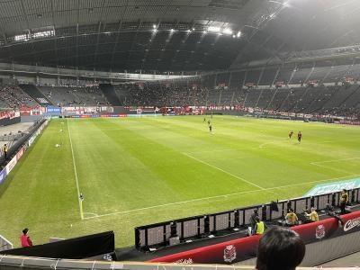 北海道コンサドーレ札幌対ヴィッセル神戸戦