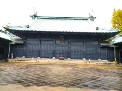 孔子尊像とその高弟とされる四賢像が祀られている孔子廟の正殿です!