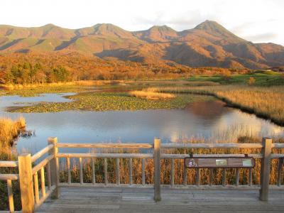秋の知床一湖
