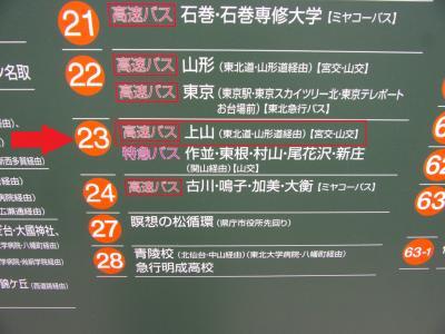 仙台~山形間はおススメの交通アクセス!