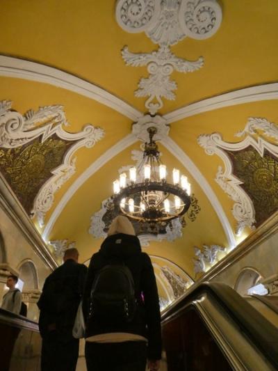 宮殿のような天井