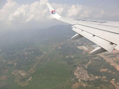 ボックスランチはトスで配布「中国東方航空」
