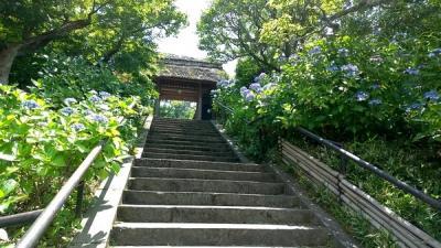 北鎌倉駅近く