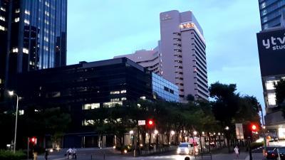 大阪城至近のホテル。ホテルスタッフはさすがしっかりしている。