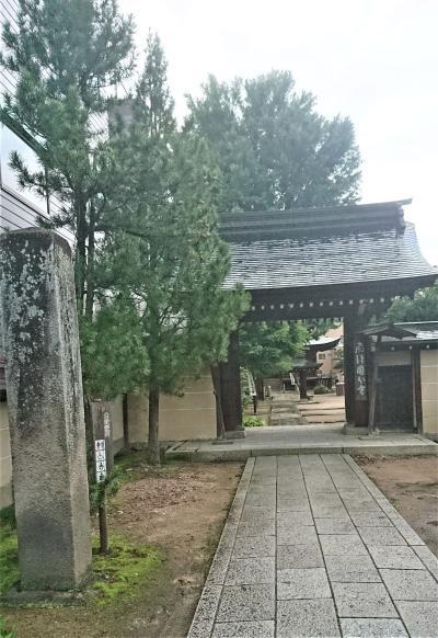 高山市中心部にある国分寺