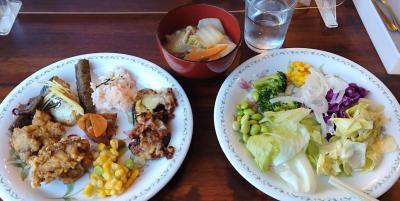 野菜中心のディナービュッフェ1280円