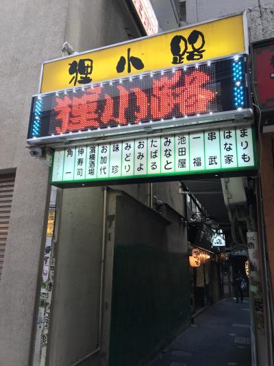 再開発の中残った横浜西口の狸小路
