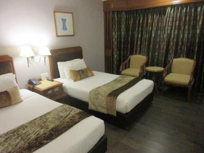 デパートと一体のホテル