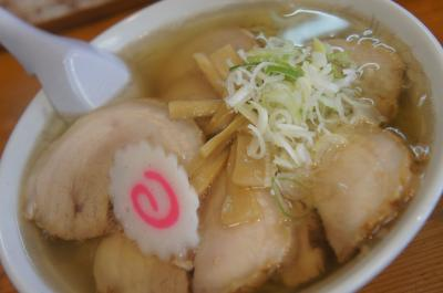チャーシュー麺がボリューミー