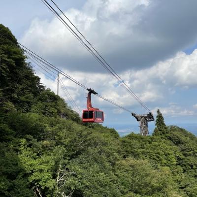 筑波山女体山への移動方法はロープウェイ