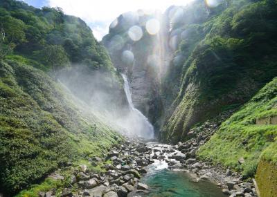 急遽訪れた滝でしたが