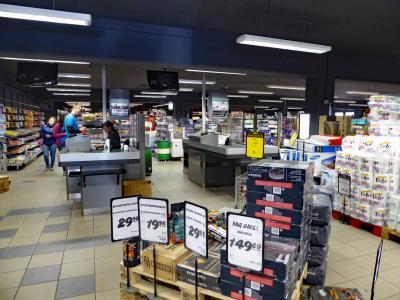 イルリサット最大規模の総合スーパーマーケット
