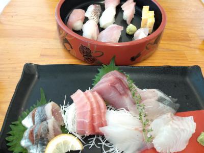 新鮮な地魚が味わえる