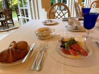 雰囲気の良い朝食でした