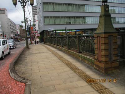 長崎の大通りの橋