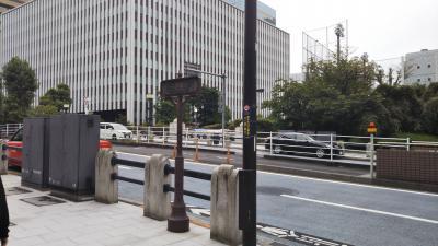 築地市場の前を通る通りです。