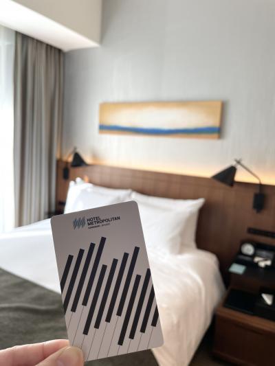 昨年開業の川崎の最新ホテル 綺麗でスタイリッシュ、コンパクトで機能的、快適でした