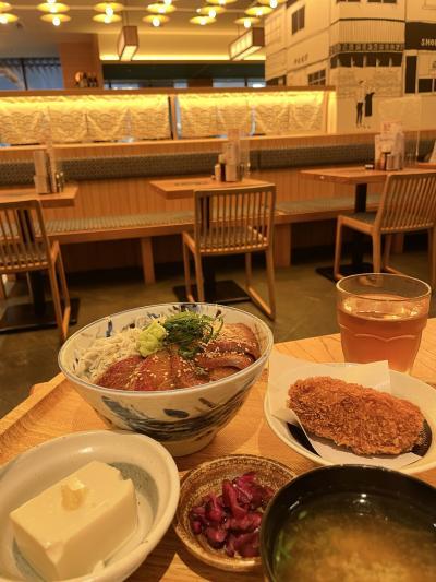 JR川崎タワーの飲食店 安定の魚金さんで夕食