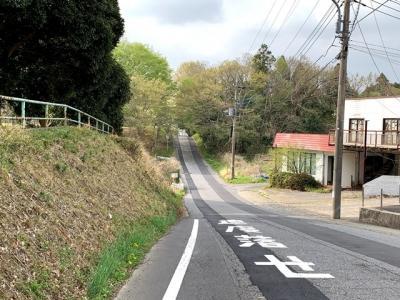 生活道路ですが、散策・サイクリングにもおススメ♪♪
