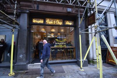 イギリス庶民伝統の味を大切にする店