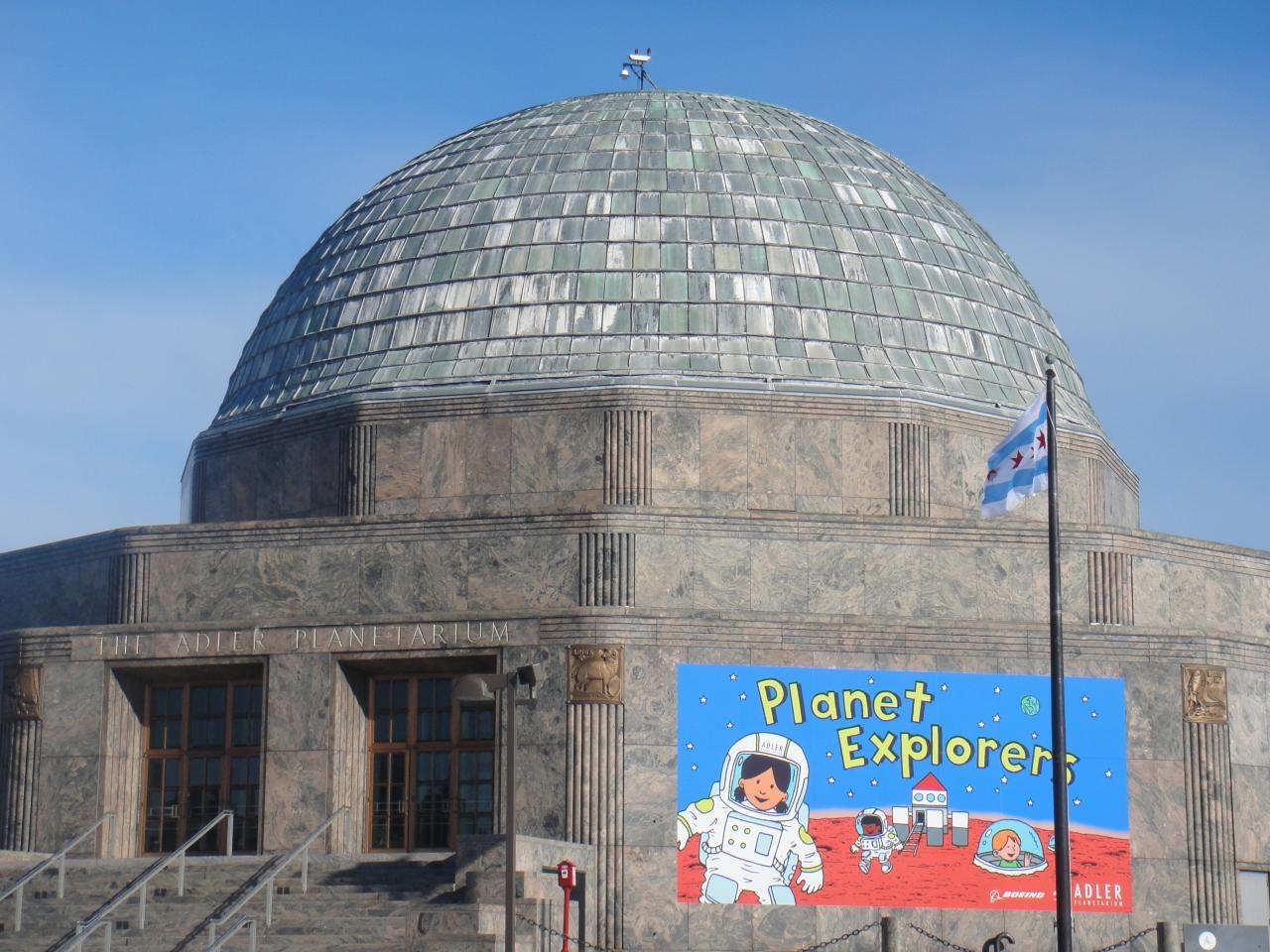 アドラープラネタリウム&天文学博物館写真・画像