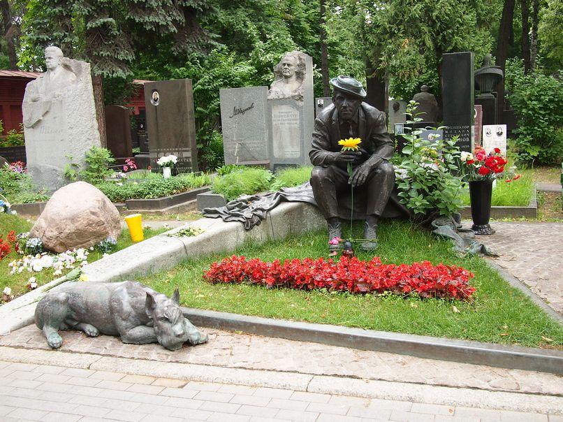 ノヴォデヴィチ墓地写真・画像