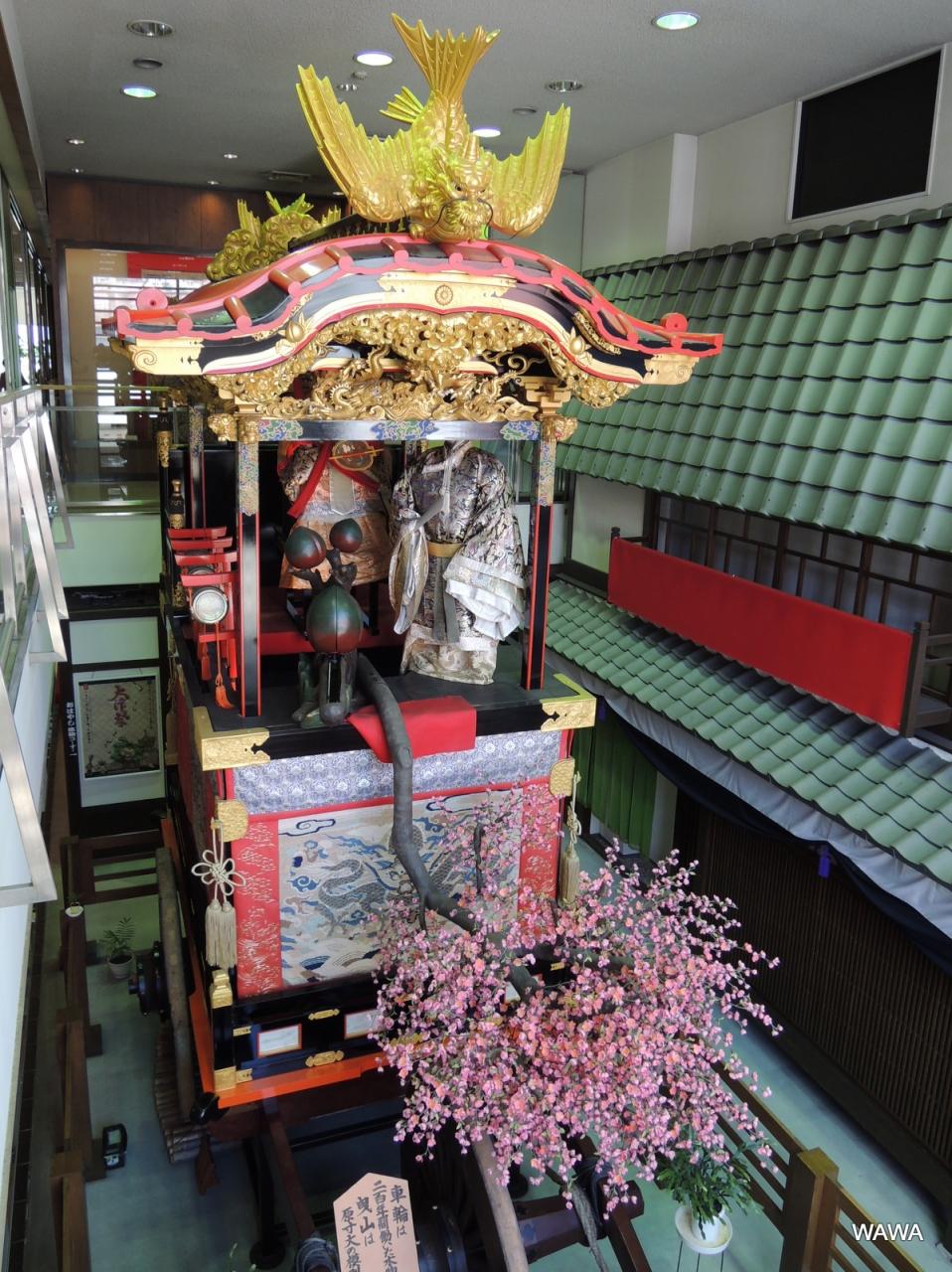 山車に飾られたカラクリ展示が素晴らしい展示館でした