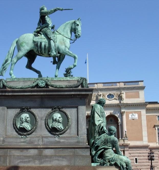 グスタフ アドルフ広場 (ストックホルム)                Gustav Adolfs Torg Stockholm