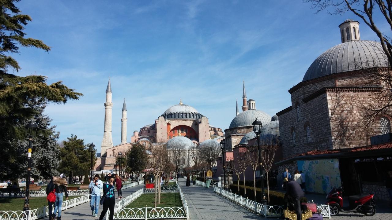 イスタンブール歴史地域                Historic Areas of Istanbul