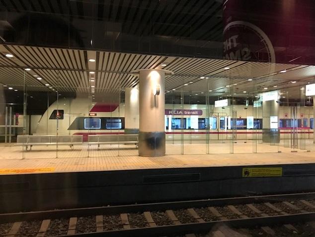 クアラルンプール国際空港駅                Kuala Lumpur International Airport ERL Station