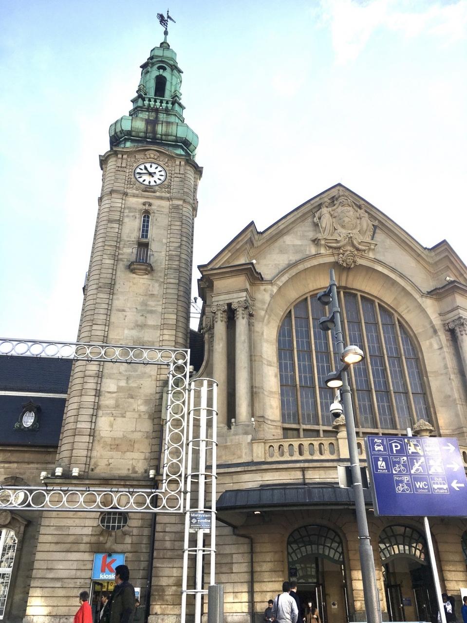 ルクセンブルクの国際駅のルクセンブルク中央駅