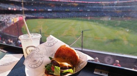【ヤンキースタジアム観戦記】BOS vs NYY / Pepsi Lounge, Outfield 105 Row 2