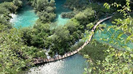 ドイツ・クロアチアの旅�プリトゥヴィツェ湖群国立公園へ。ラストケ村へ立ち寄り。