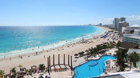 年越しはメキシコ☆カリブ海のカンクンで−ANAで行くハネムーンじゃないよ食べ飲み夫婦旅−