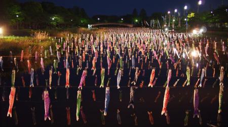 GW東北ツー� 大谷+鯉のぼり祭 354km