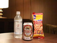 ビジネスマン応援プラン(缶ビール&おつまみセット付き)