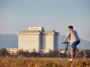 Cycling in BIWAKO <プチビワイチ体験>   写真