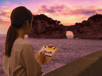 極上の夕陽に出会う旅 ShirahamaSunsetStay