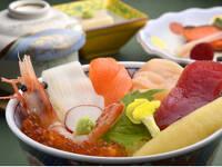 北海道の『うまいっしょ!』海の幸ちらし膳+朝食付きプラン
