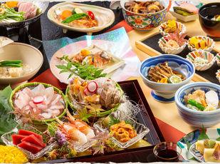 旬の高級食材を堪能『万世閣饗宴の膳(秋)』  写真