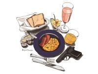 ボンド流の朝食スタイルで優雅な朝のひととき