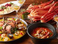 GARDEN DINING「魚介の王様 蟹フェア」開催
