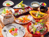 【和食会席プラン】☆三浦半島の旬素材を最上階でじっくり味わう
