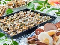 サザエの壷焼きや地野菜料理など食べ放題!郷土料理バイキング