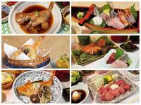 夕食の内容を6つの御膳から選べる! 1泊2食付きプラン