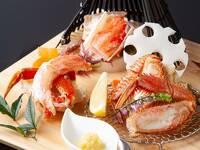 【冬季限定】毛ガニやタラバガニを贅沢に食べ尽くし(2食付)